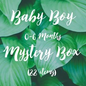 Other - 22 Piece Baby Boy Mystery Box 0-6 Months